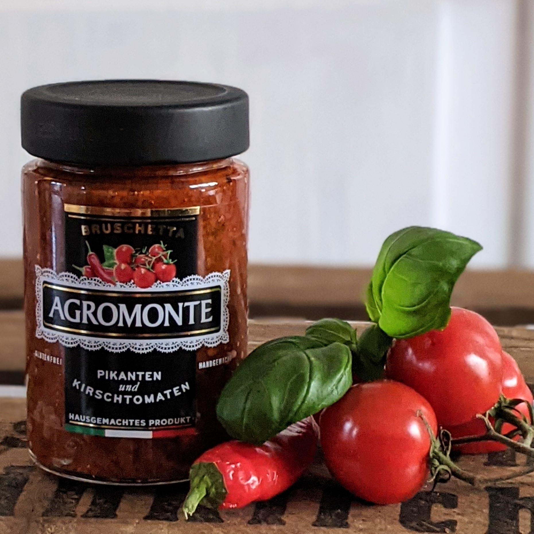 Agromonte Pikanten und Kirschtomaten 200g