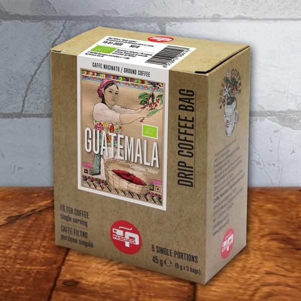 Pascucci Drip Coffee Bag Guatemala, 9x5g