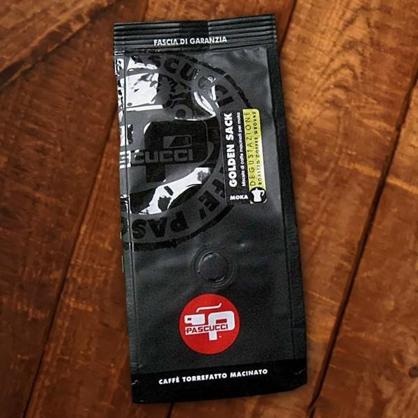 Pascucci GOLD CAFFÈ, Beutel für die Espressomaschine 250g