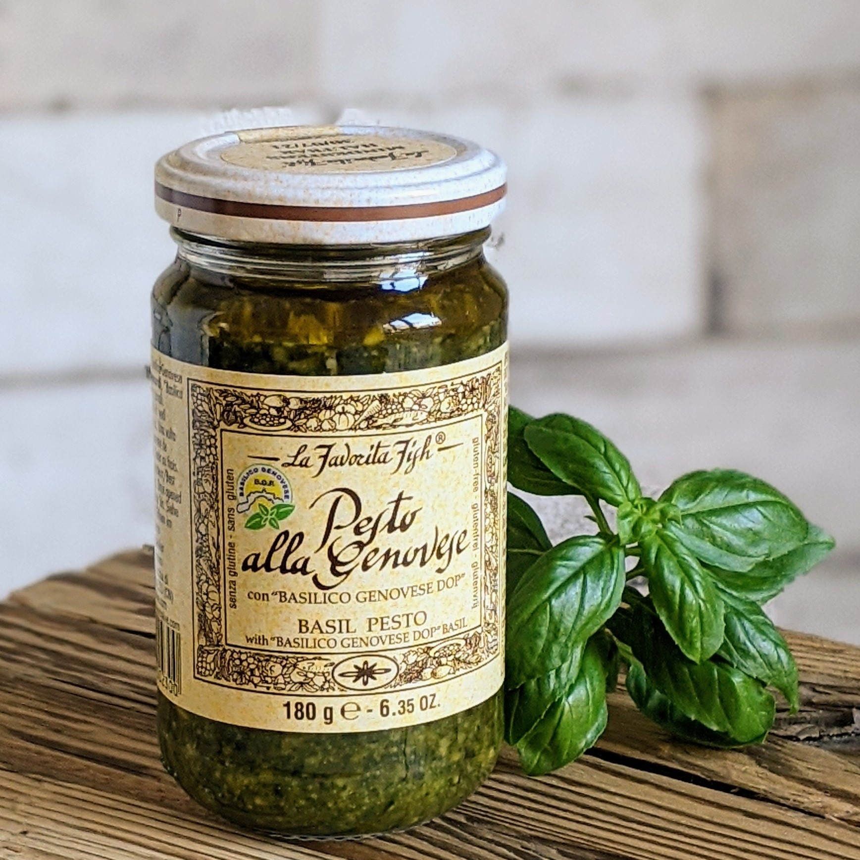 Favorita Fish Pesto Alla Genovese 180g