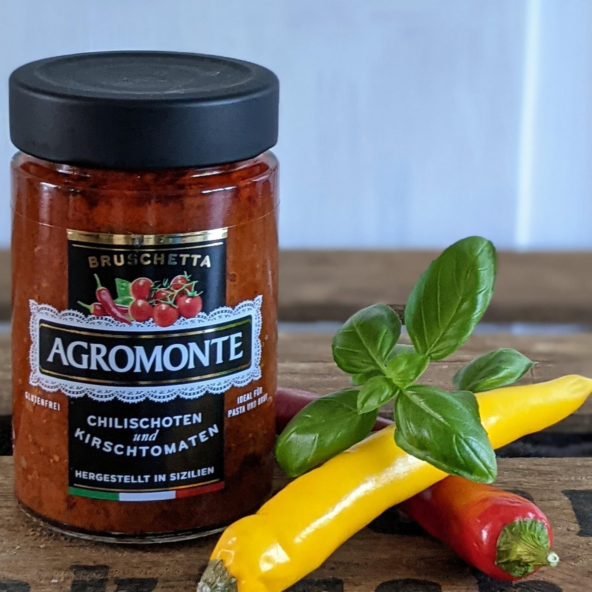 Agromonte Chilischoten und Kirschtomaten 200g