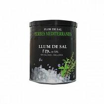 Meersalz mit mediterranen Kräutern - Llum Flor de Sal Mallorca, 150g