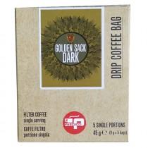 Pascucci Drip Coffee Bag, Golden Sack Dark, 9x5g